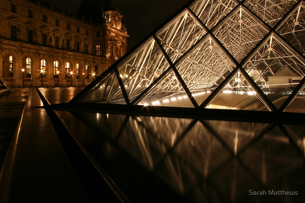 The Louvre, Low Shot by Sarah Matthews