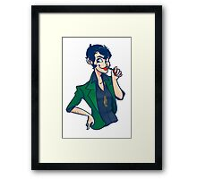 Lady Lupin Framed Print