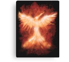 The Mocking Fire Canvas Print