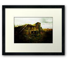 bunker Framed Print