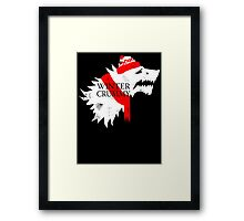 Winter is Crummy Framed Print