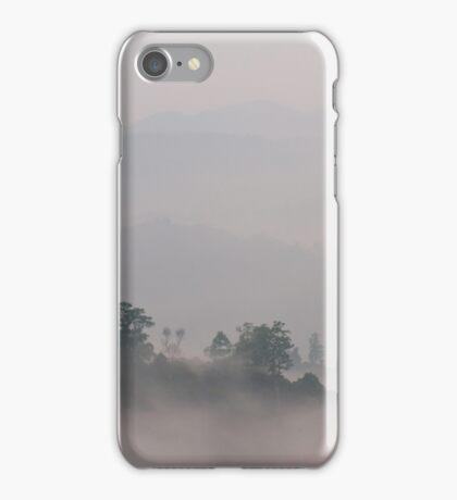 Mist over Nam Kan forest iPhone Case/Skin