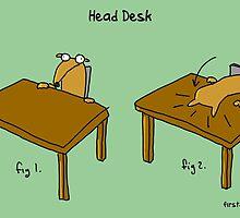 Head Desk by firstdog