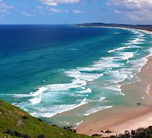 Tallow Beach, NSW by beaumitchell