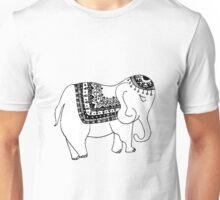 Asian/Indian Inspired Elephant Unisex T-Shirt