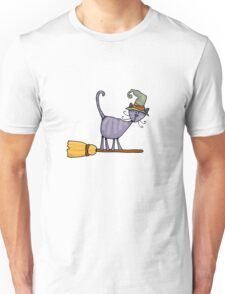 Broomstick kitty T-Shirt