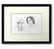 Seventh and Eighth Framed Print