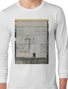 Sculptures on the Lock wall, Aschbach, Austria Long Sleeve T-Shirt