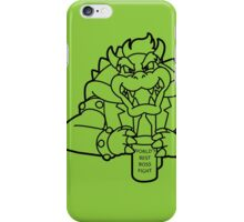 World's Best Boss Fight (a) iPhone Case/Skin