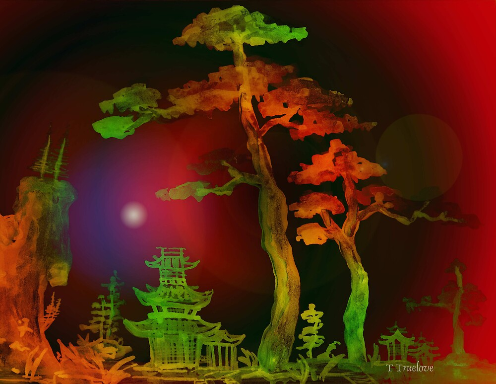 Towering Two Trees 3 by TTruelove