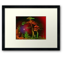 Towering Two Trees 3 Framed Print