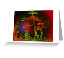 Towering Two Trees 3 Greeting Card
