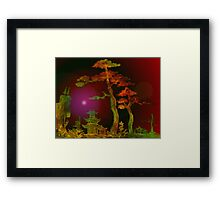 Towering Two Trees 2 Framed Print