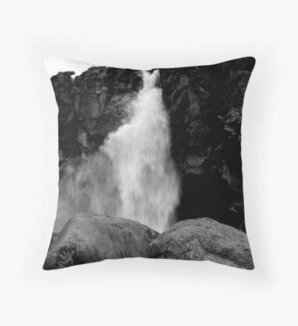 Waterfall I Throw Pillow