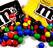 m&ms plain and peanut by Brad Sumner
