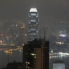 Hong Kong at Night - Victoria Peak by puppymike