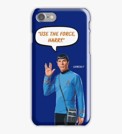 Use the force, Harry iPhone Case/Skin
