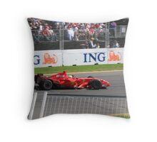 Felipe Massa - Ferrari Throw Pillow