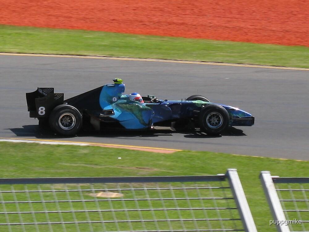 Rubens Barrichello - Honda by puppymike