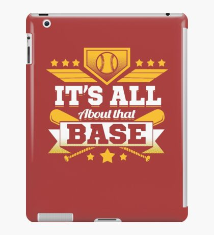It's all about that BASE iPad Case/Skin