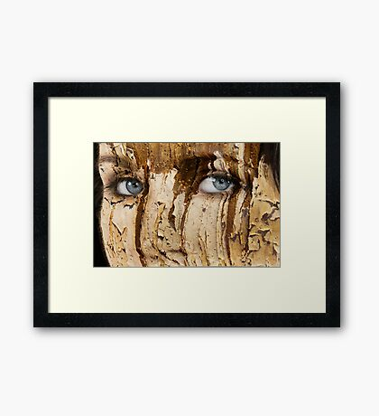 Rugged Framed Print
