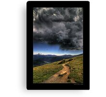 Mountain Thunder Canvas Print
