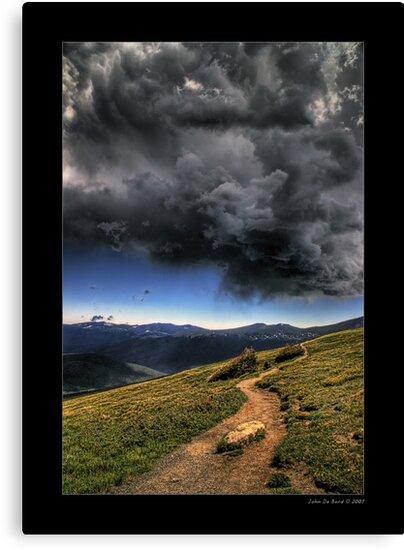 Mountain Thunder by John  De Bord Photography