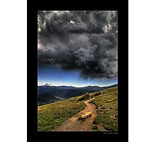 Mountain Thunder Photographic Print