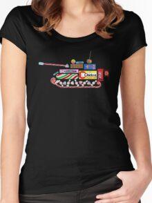 Sweet Tank (black) Women's Fitted Scoop T-Shirt