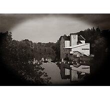Elora Mill - Sepia Photographic Print