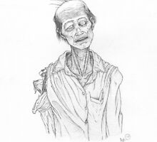 Emaciated Zombie by EldritchStudio