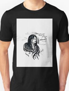 INDIAN GIRL UNDER THE MOON T-Shirt