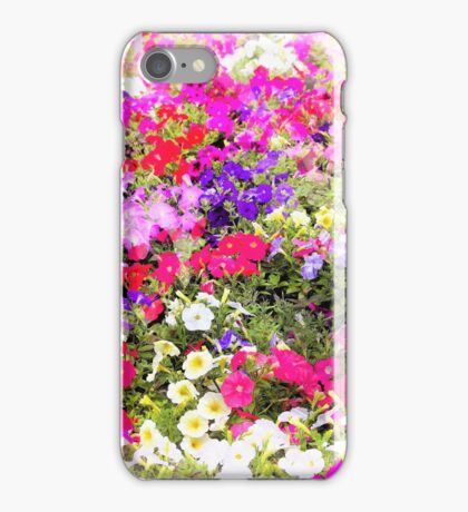 Petunia Patch iPhone Case/Skin