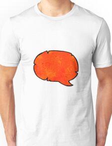 comic book speech bubble cartoon Unisex T-Shirt