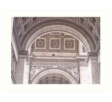 Paris architecture 2 Art Print