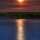 Kimmeridge Moonrise by Alex Clark