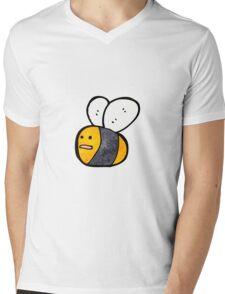 cartoon bee Mens V-Neck T-Shirt