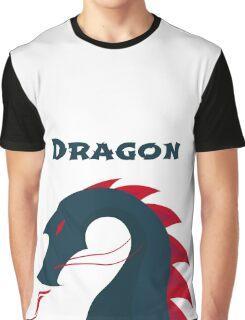 Fire Dragon Graphic T-Shirt