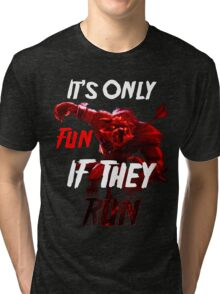 Run For Your Life Tri-blend T-Shirt