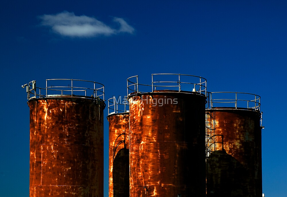 tank, Rust Buckets by Mark Higgins