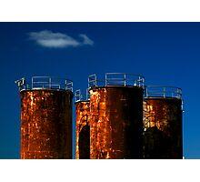 tank, Rust Buckets Photographic Print