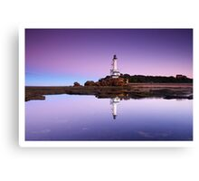 Reflections of Point Lonsdale Lighthouse Canvas Print