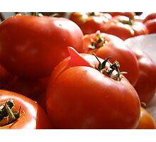 Happy Tomato!!! Photographic Print