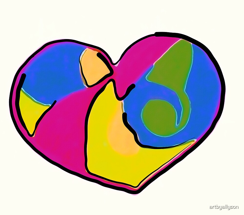 Love of many Colors by Allyson Kitts