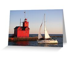 Summer Sail Greeting Card