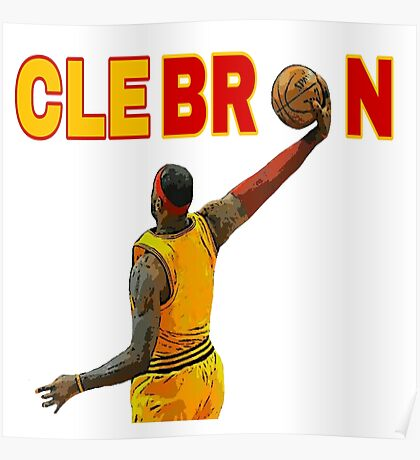 clebron Poster