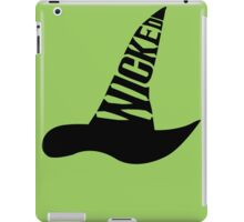 Wicked - in BLACK iPad Case/Skin