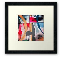 Drip Design Framed Print
