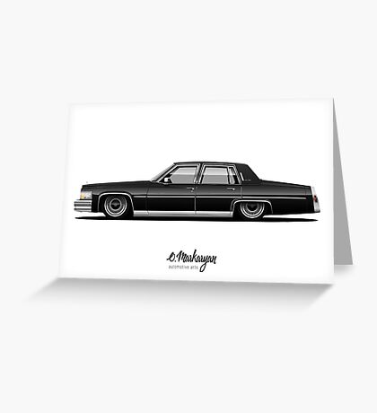Cadillac Fleetwood Greeting Card