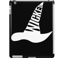 Wicked - in White iPad Case/Skin